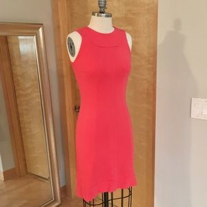 United Colors of Benetton Stretch Coral dress